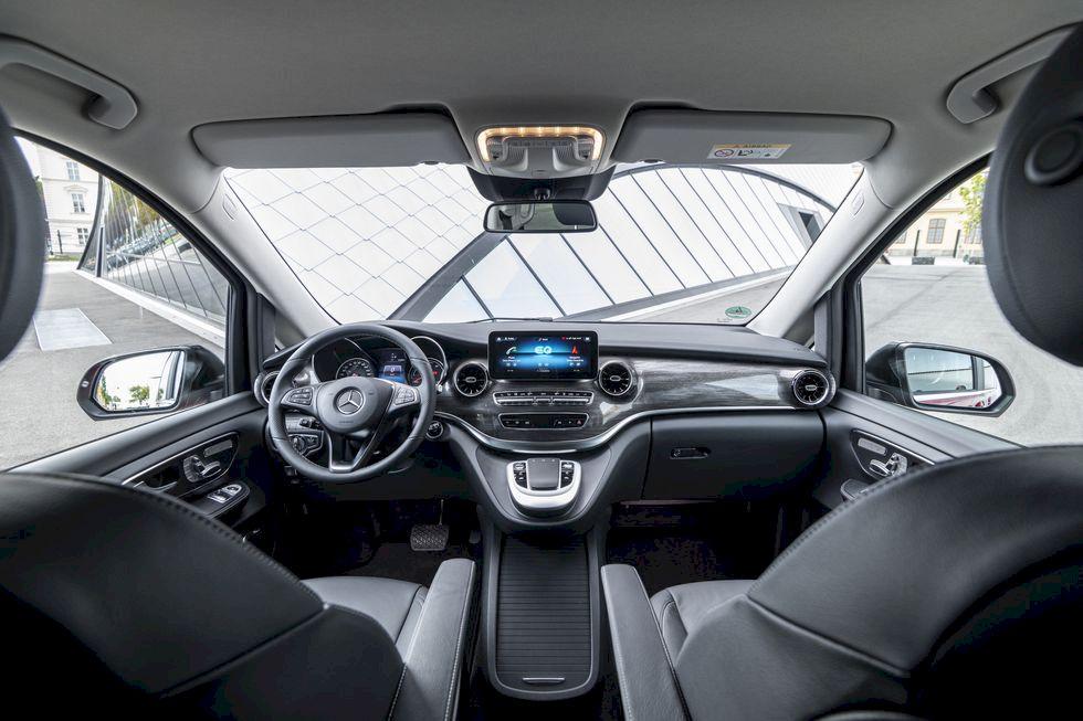 Nya Mercedes EQV: Den rymliga elbilen för det aktiva livet