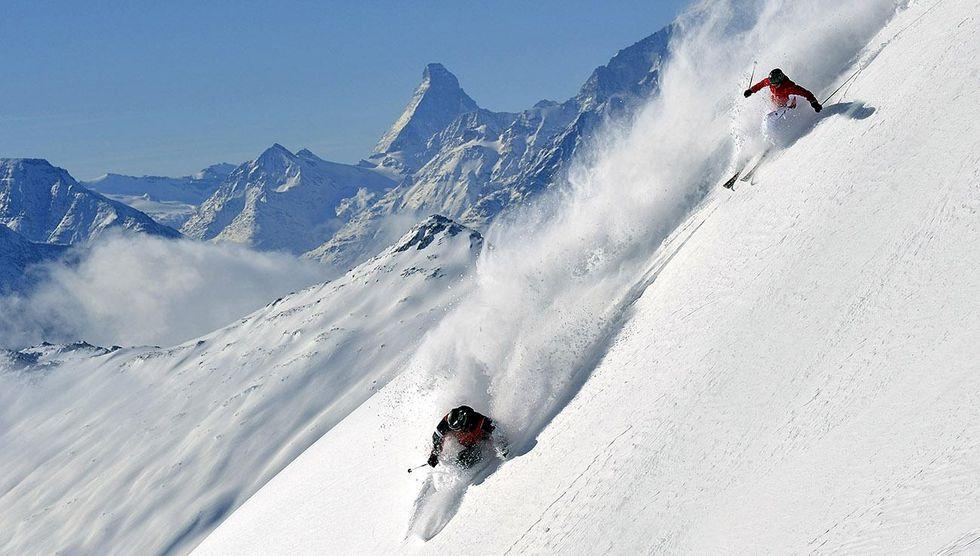 Zermatt – tidig skidpremiär vid Matterhorns fot
