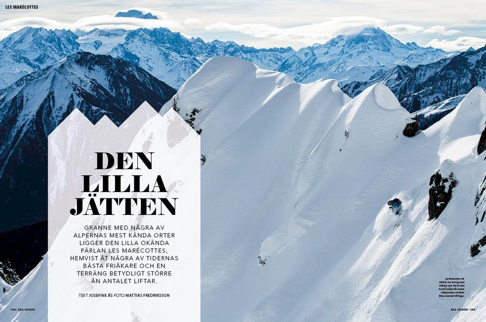 Världens bästa snö i decembernumret av Åka Skidor