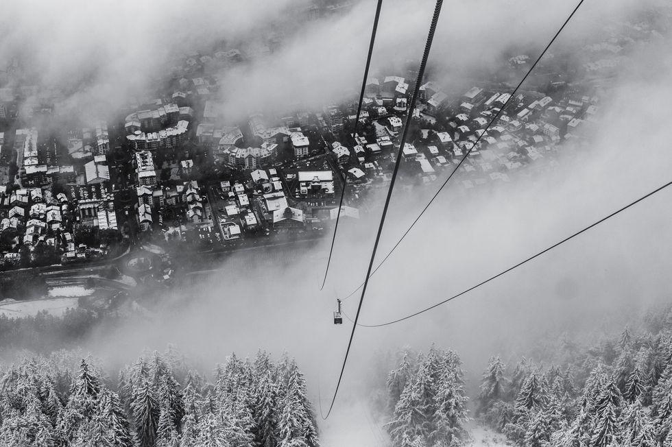 Franska skidorter hålls stängda året ut