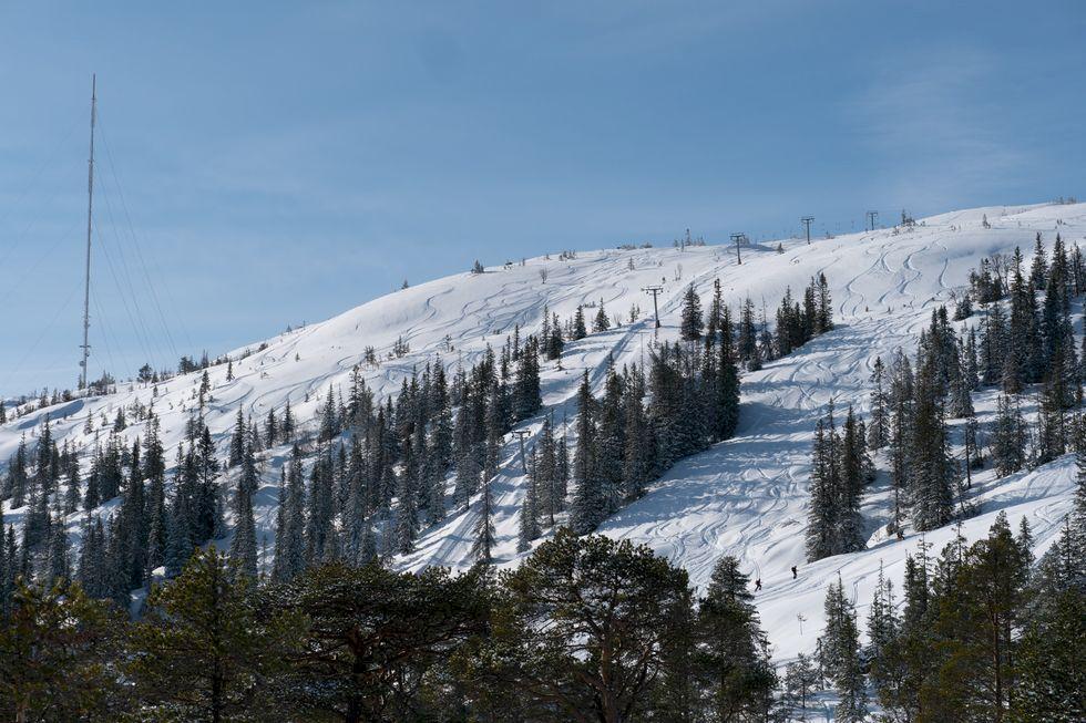 Vassfjellet Vinterpark –stadsnära skidåkning utanför Norges tredje största stad