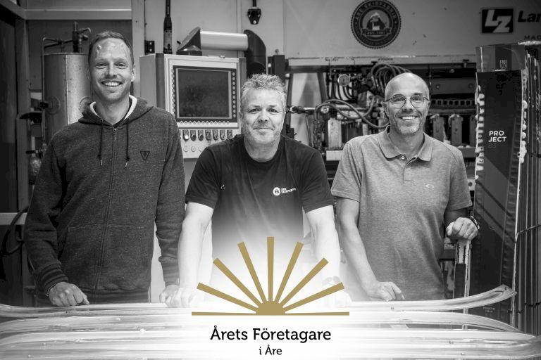 Åre Skidfabrik prisas som gasellföretag av Dagens Industri
