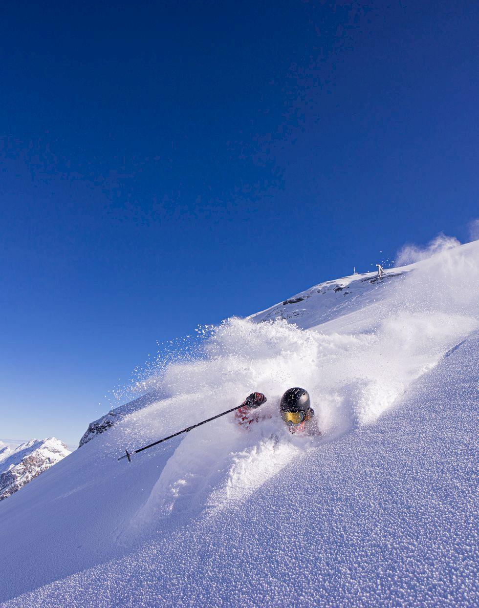 Vykort från Engelberg: Snön har kommit till Alperna