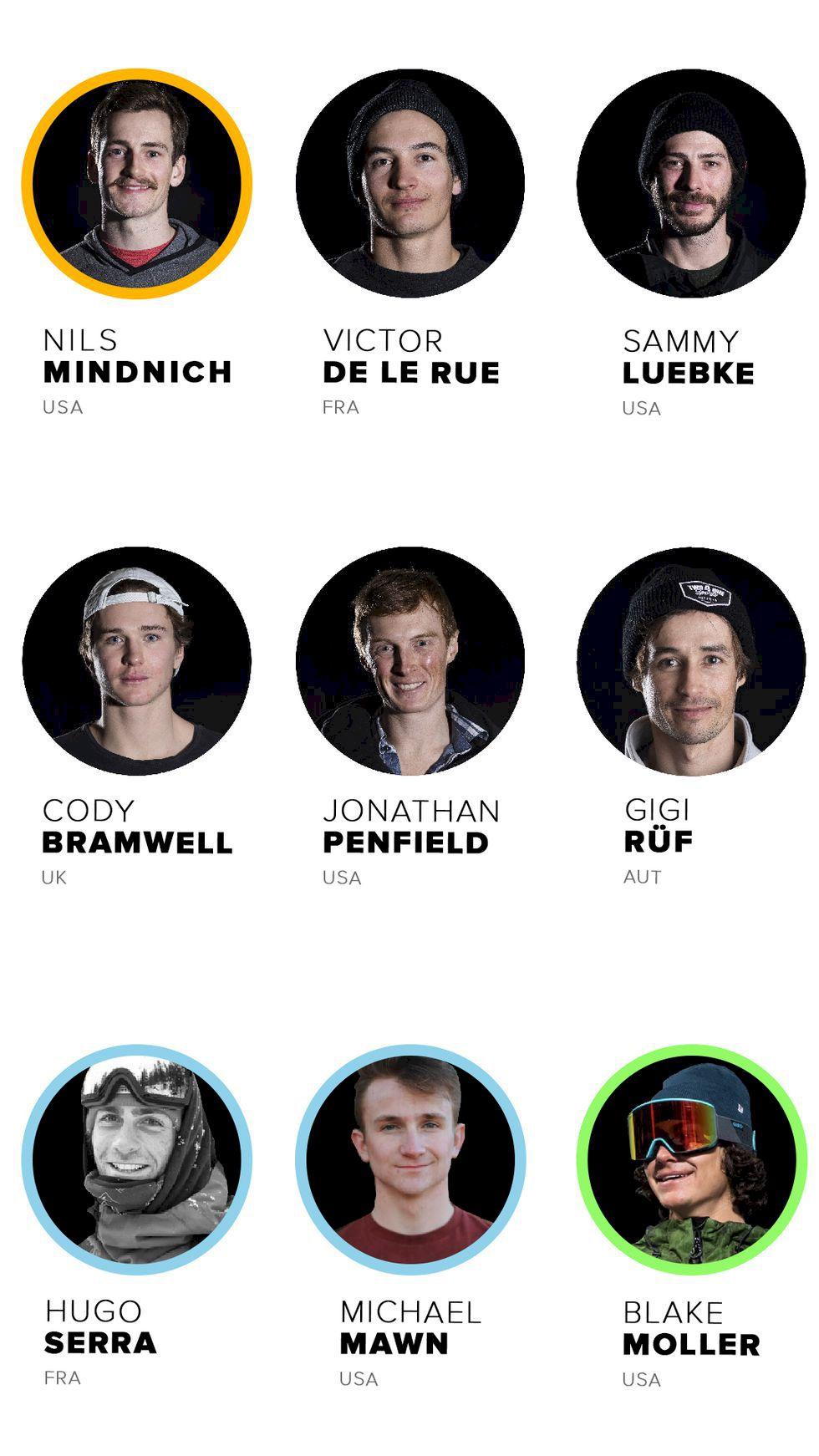 Här är åkarna som tävlar på Freeride World Tour i år