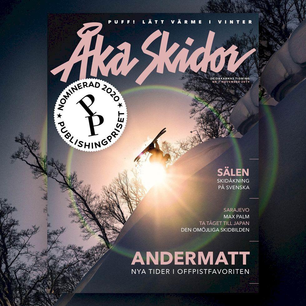 Åka Skidor nominerad till Årets Tidning