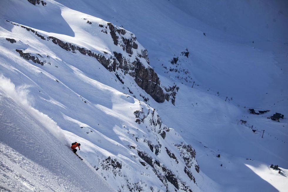 Fly ekorrhjulet och jobba på distans från Alperna