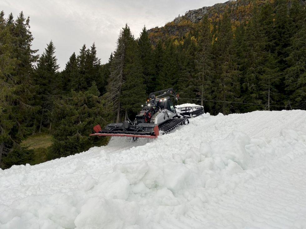 Första skidorten i Skandinavien har öppnat