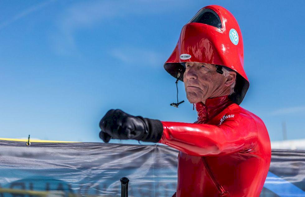 Speedski: En 70-årings nya passion