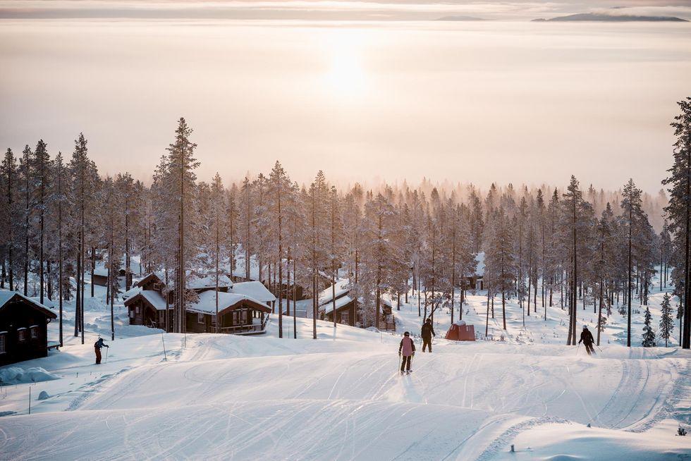 Ett säkert hösttecken: säsongens första Åka Skidor är här