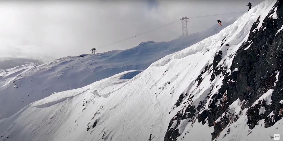 Högsta högsta: Det största droppet i Åre