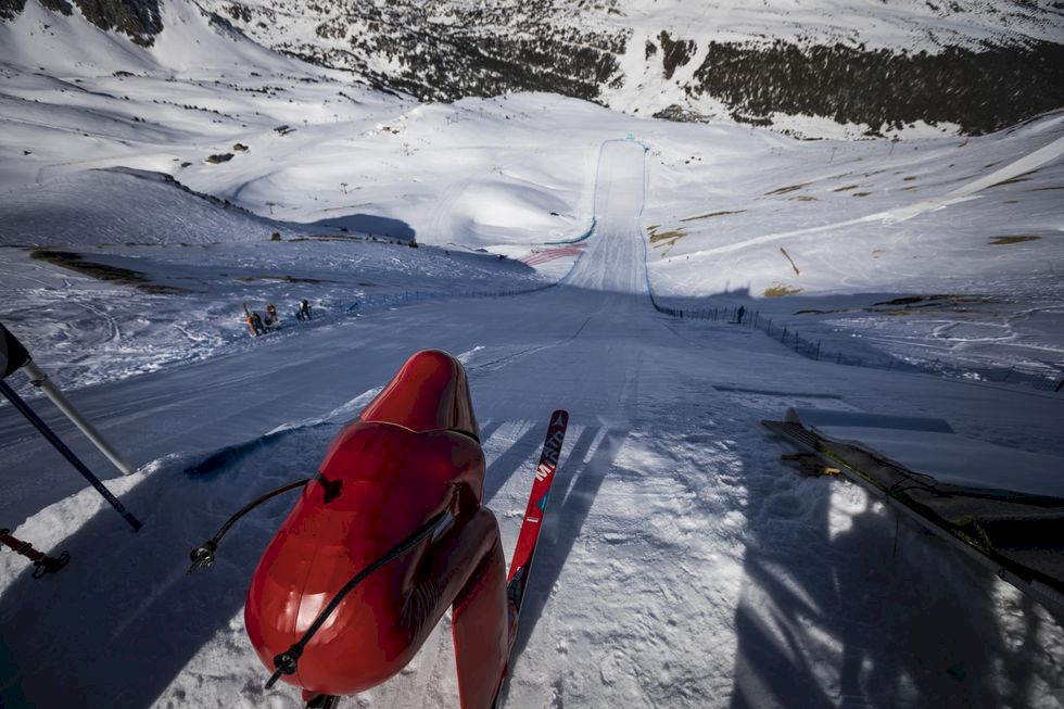 Speedskiing - världsrekord, acceleration och brännskador