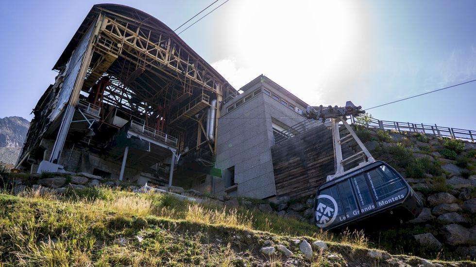 Chamonix efter branden: ett GM utan lift