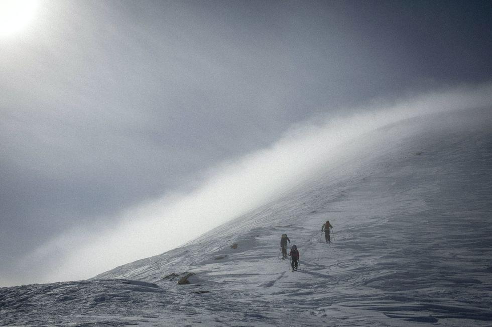 Bergskunskap del 2: Vind & drevsnö