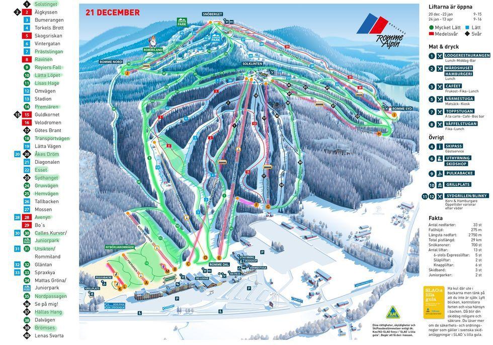 Romme Alpin stänger för säsongen på eget initiativ