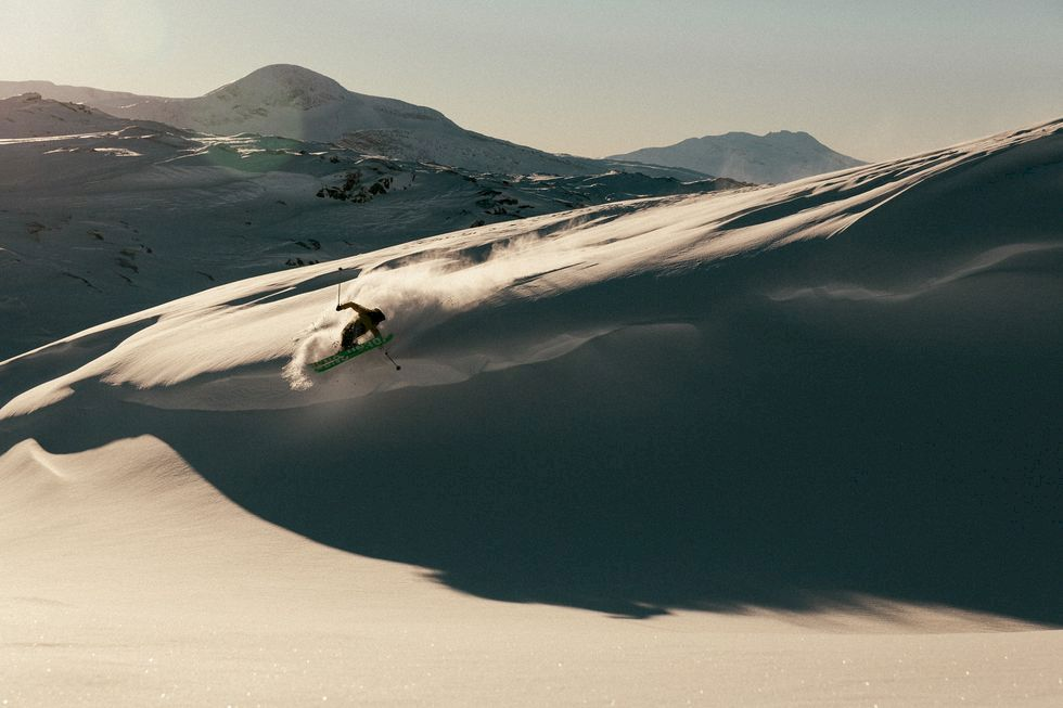 Nästa vecka öppnar Riksgränsen – med mest snö i landet