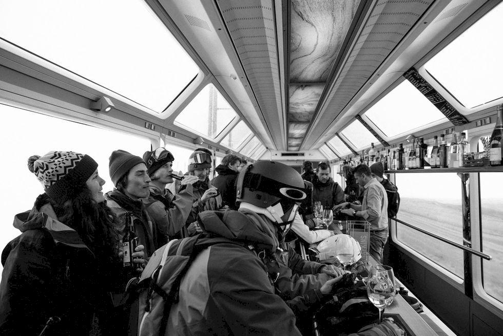 En skidåkares lifehacks & guide till tågresan