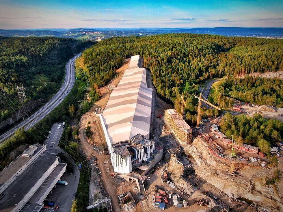 Nu öppnar Skandinaviens första inomhusbacke