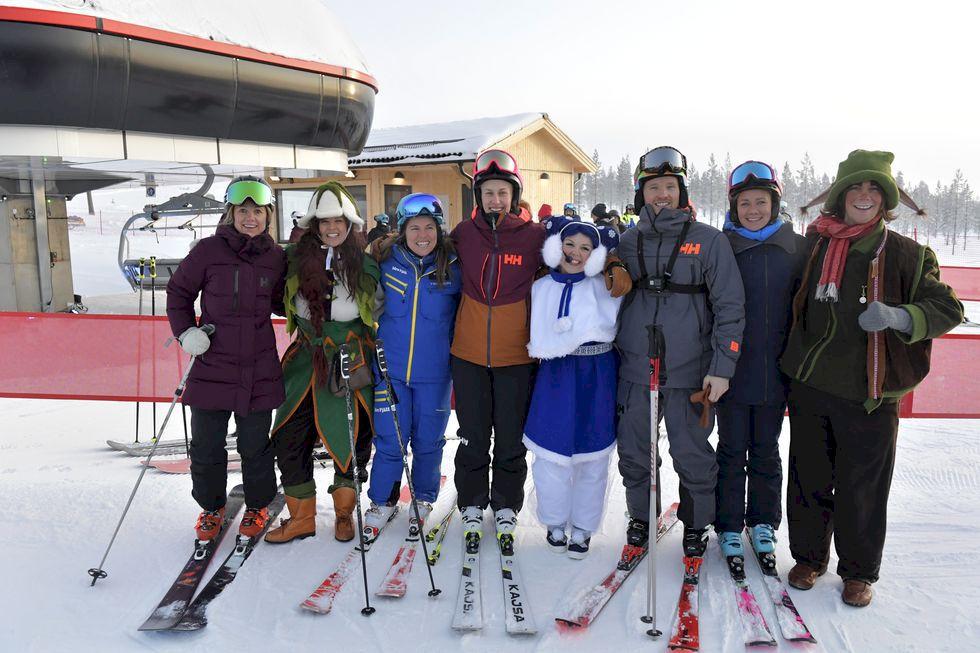 Idag öppnar Sveriges nya skidanläggning Idre Himmelfjäll