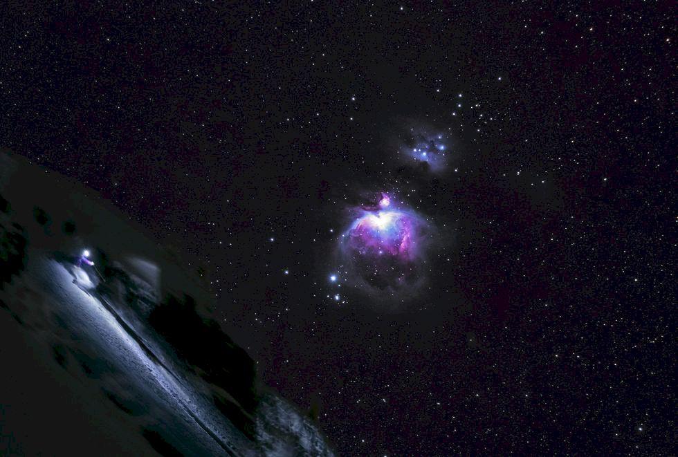 Den omöjliga skidbilden - Reuben Krabbe's Nebulosa
