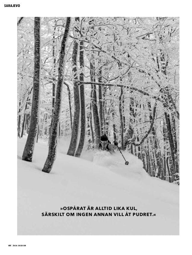 Från Sälen till Sarajevo i novembernumret
