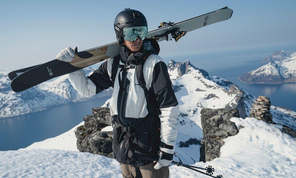 Åk skidor i Chamonix med dalens snabbaste skidåkare