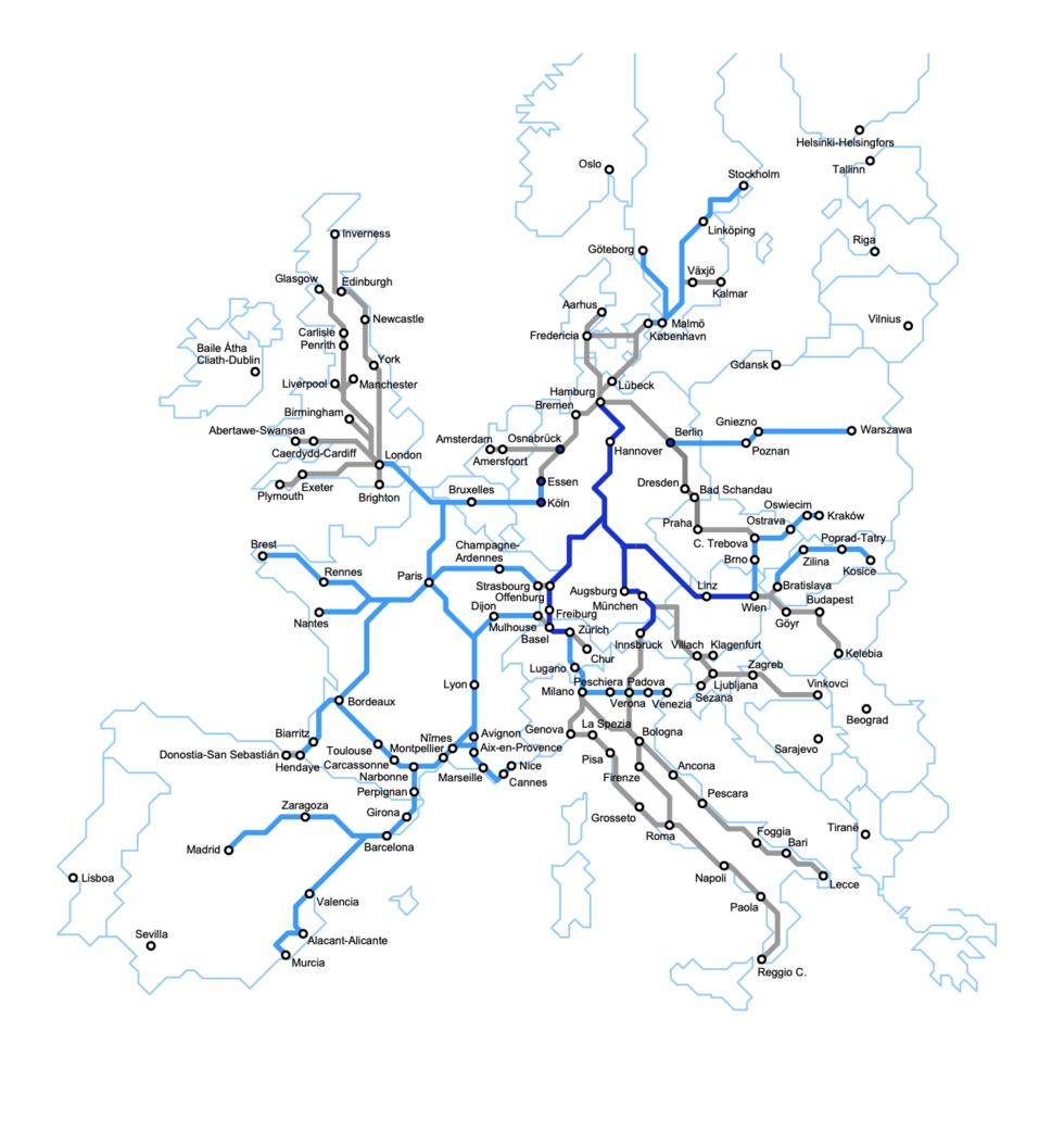 Guide: så tar du tåget till skidorter i Alperna