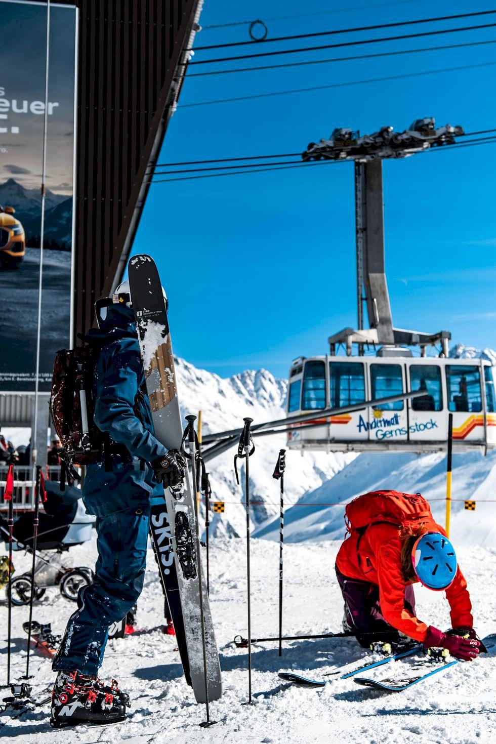 Kan man verkligen testa skidor?