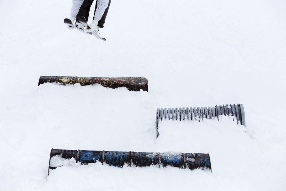 Alric Ljunghager - när skidfoto blir till konst