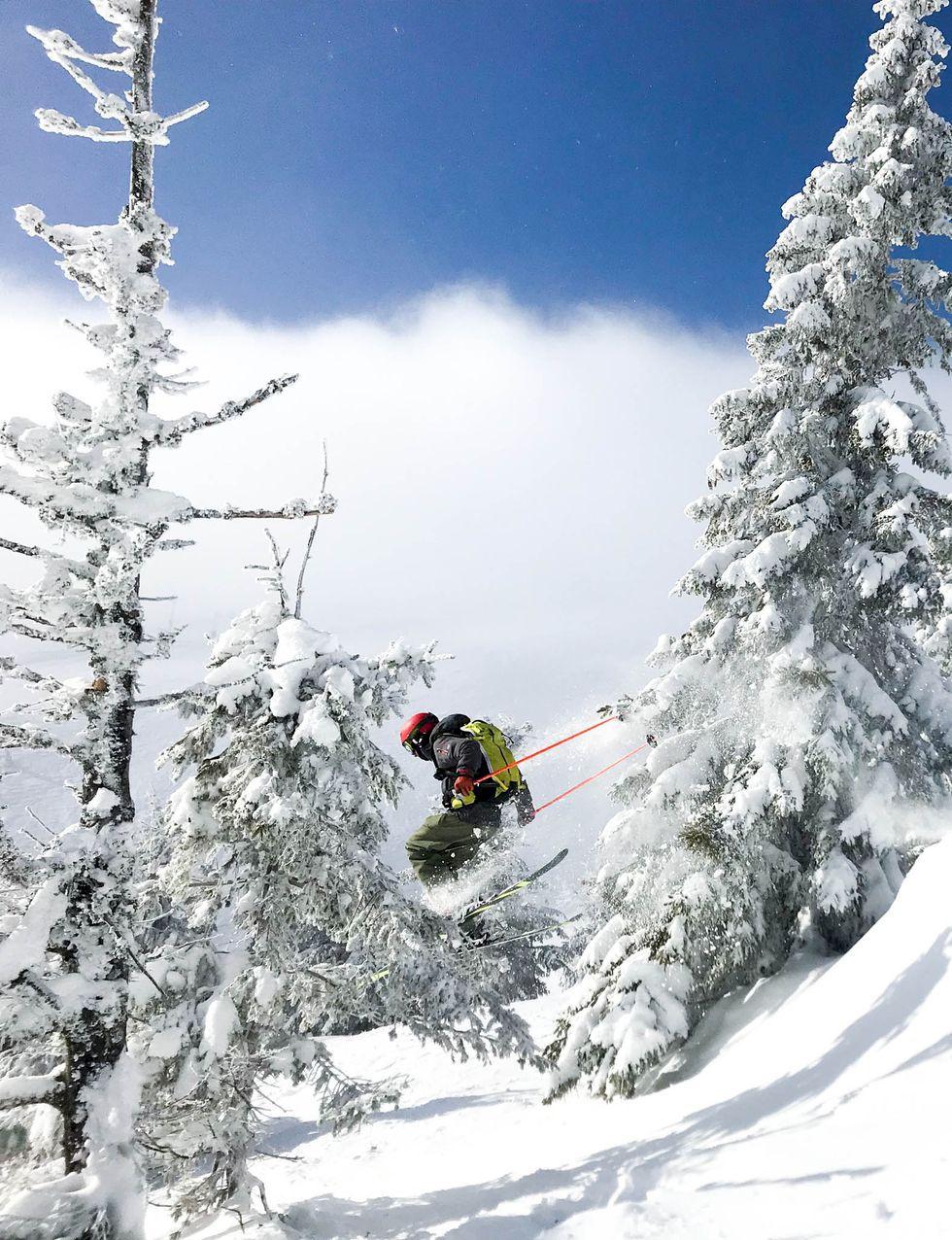 En ickeortodox skidresa i Ukraina