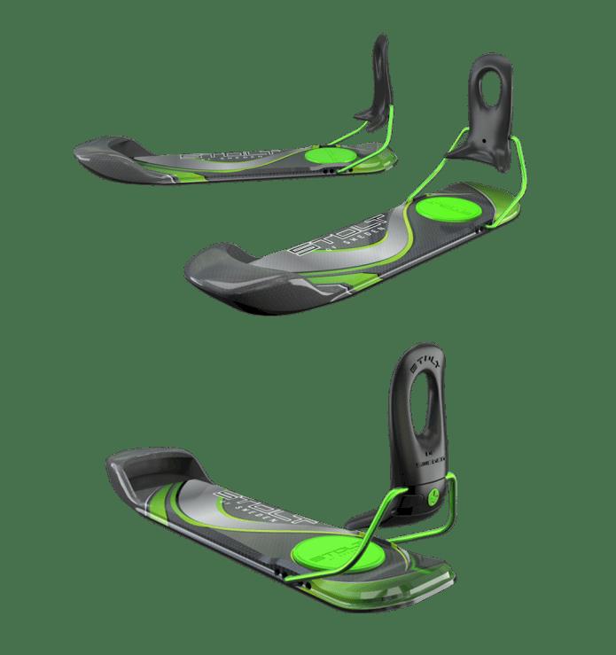 Bootskis - åk skidor på pjäxorna