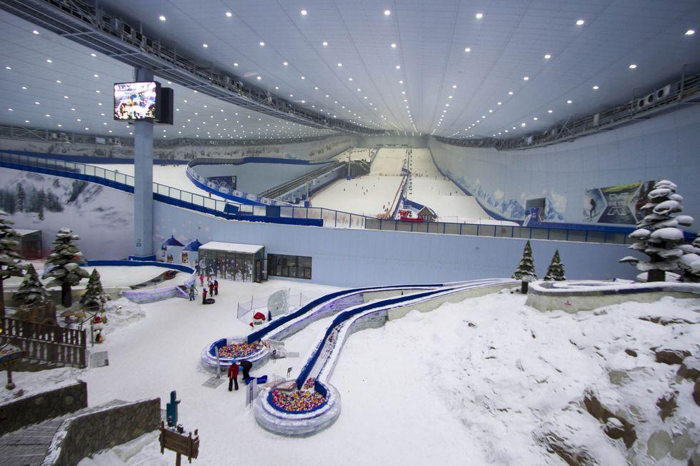 Skidkultur och OS-feber i Kina