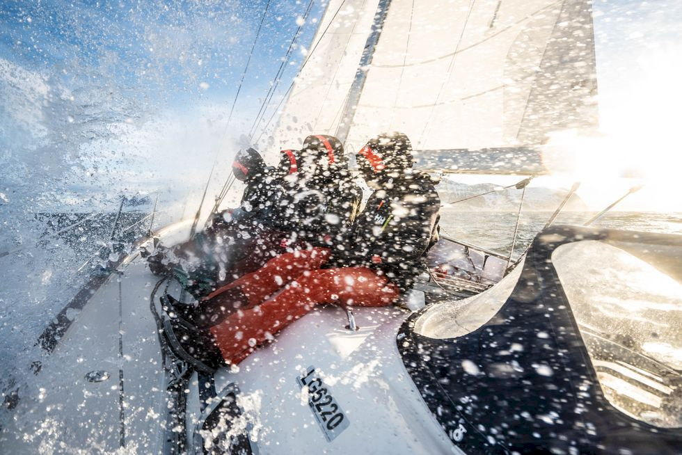 Sjövägen till snön i Nordnorge