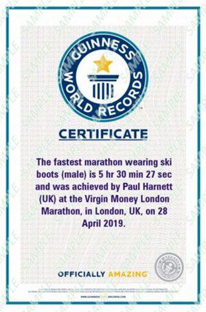 Världens snabbaste maratonlöpare i pjäxor