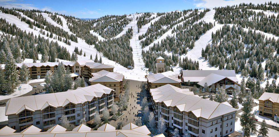 Ny skidort på gång i Kanada