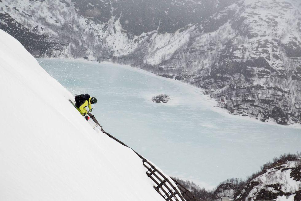 Klimatsmart topptur med tåg i Norge