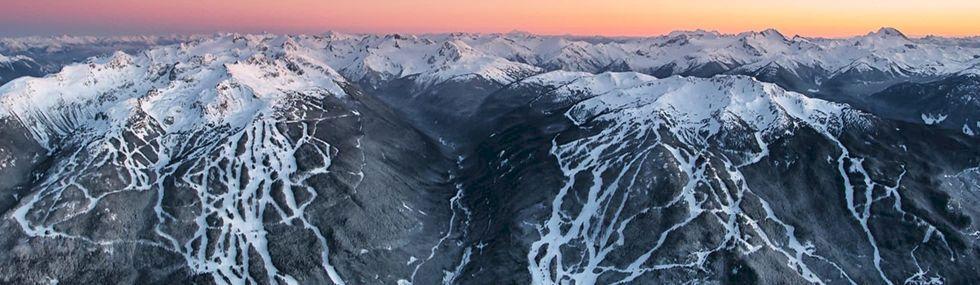 Världens bästa skidåkning: Whistler