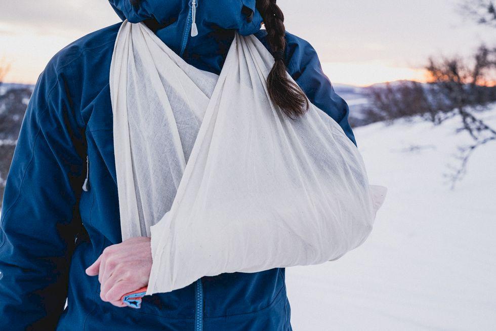 Första hjälpen för skidåkare