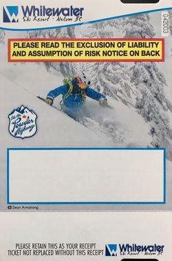 Svensk liftkortskändis i Whitewater