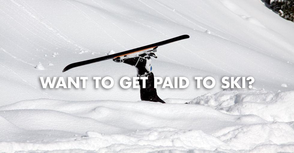 Jobbmöjlighet för mediokra skidåkare
