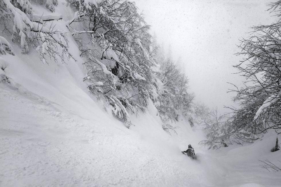 5 bakvägar till pudret i Alperna