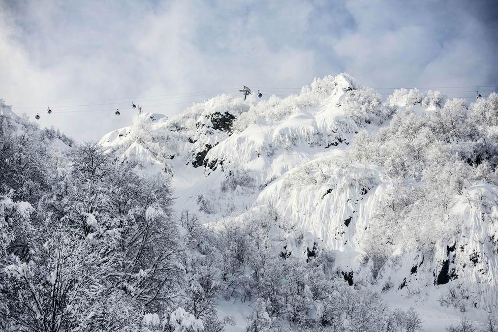 Framtidens skidåkning i Rysslands OS-ort