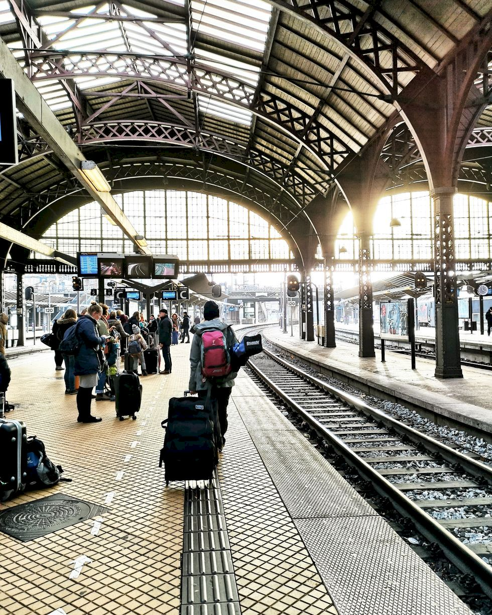 Sista minuten med tåg till Alperna