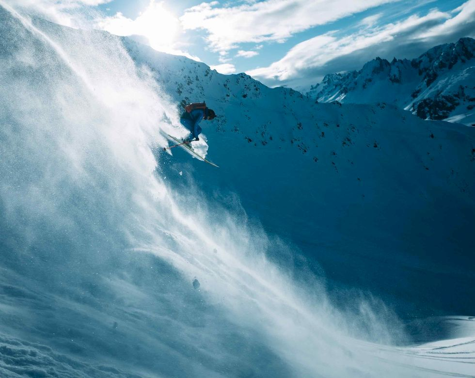 Powder Express – på railtrip i Alperna