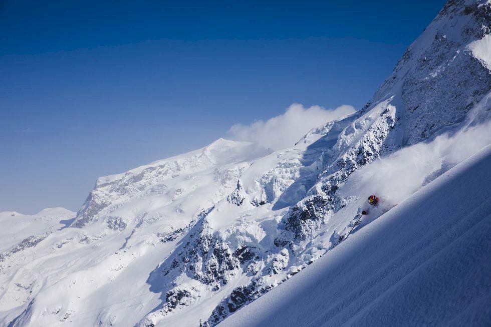 Världens bästa skidåkning: Zermatt