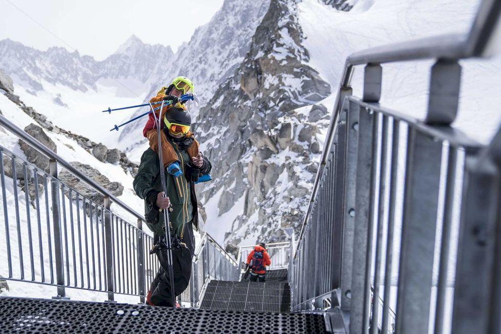 Tof Henry är Chamonix snabbaste brantåkare