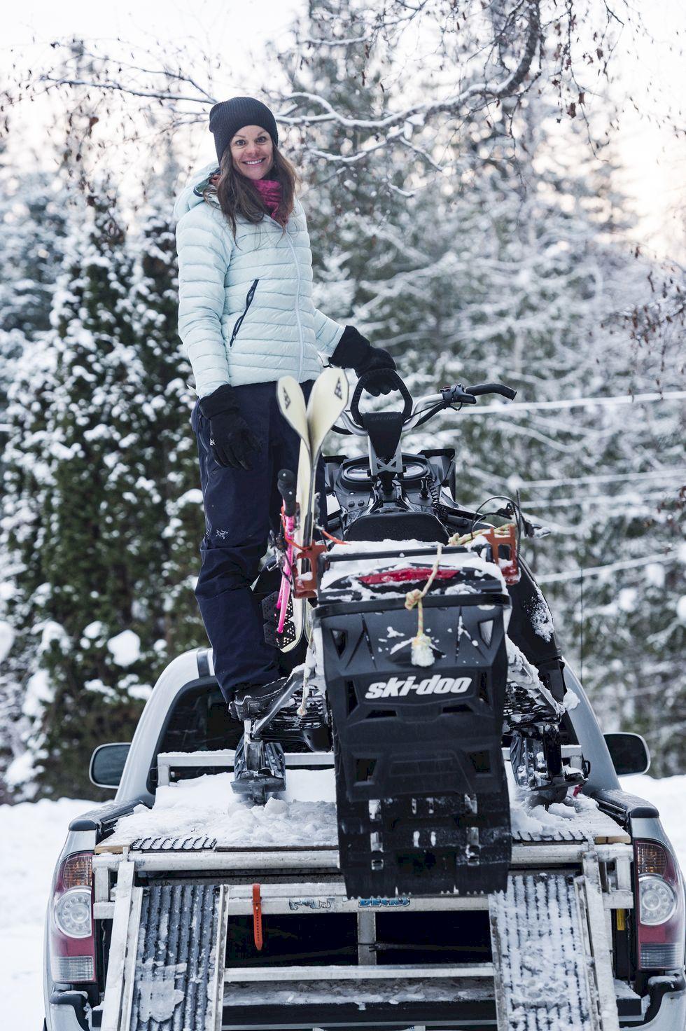 Högt och alpint med Christina Lusti