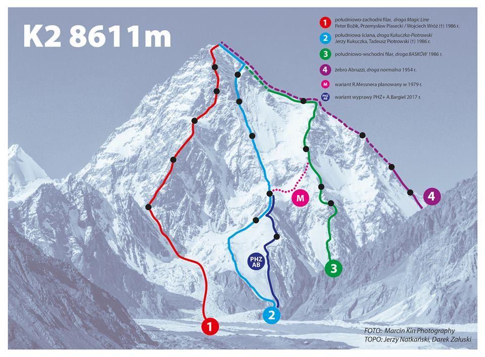 Video: första skidåket från toppen av K2