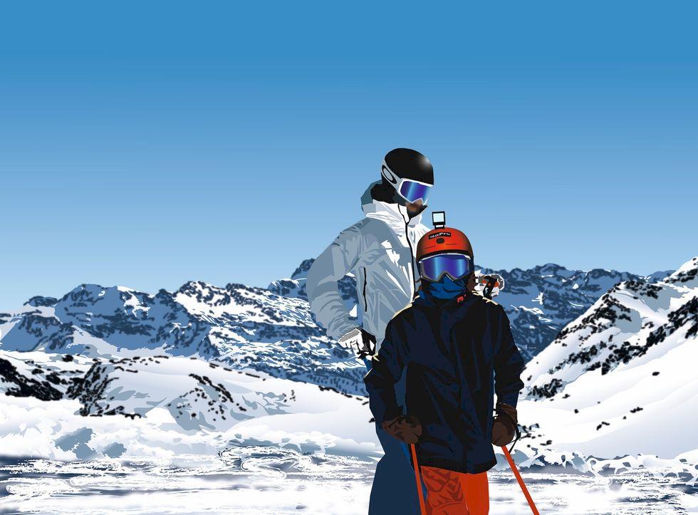 Debut i Alperna för nästa generation