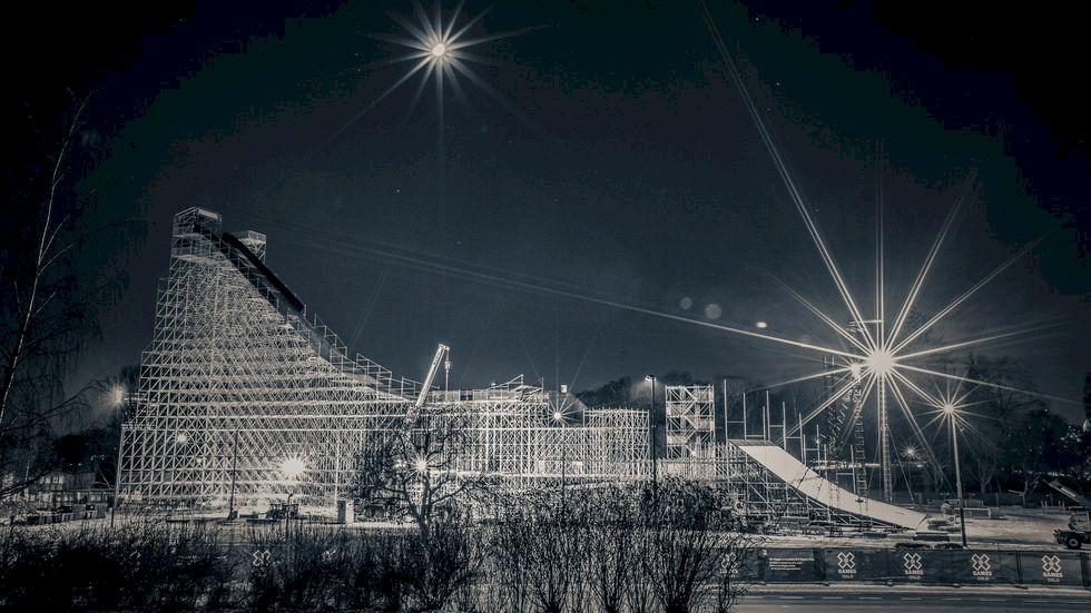 X Games Big Air i Oslo på lördag