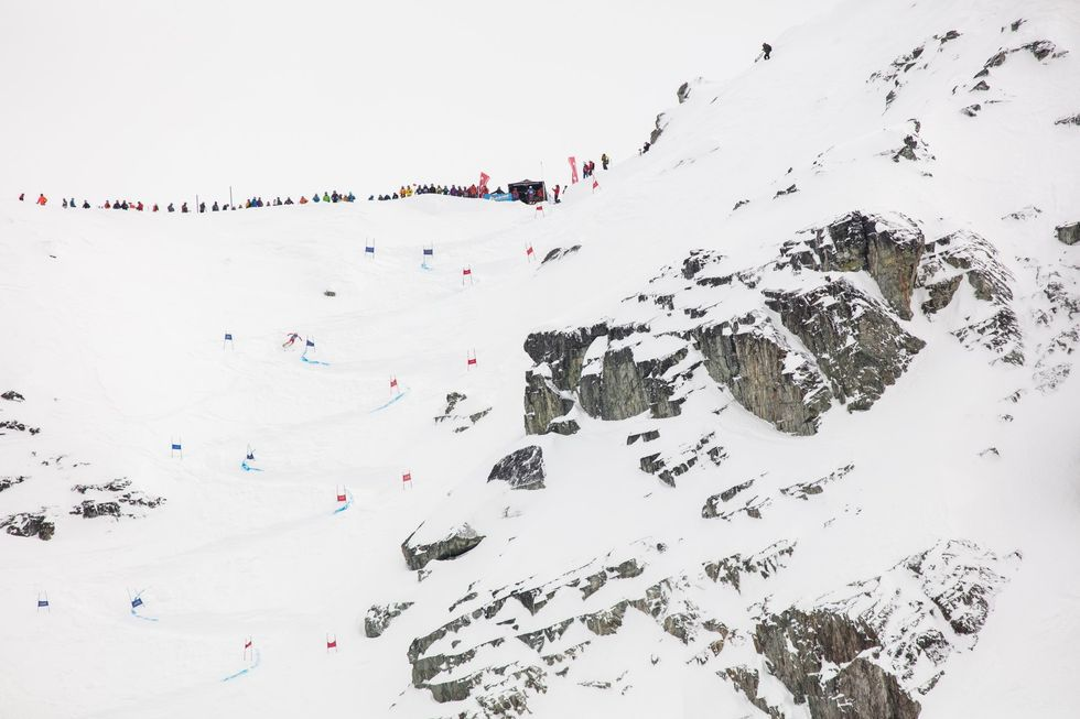 Saudan Couloir Ski Race Extreme återuppstod